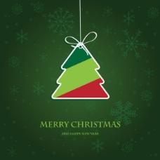 精美圣诞标签02——矢量素材