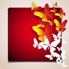 蝴蝶主题矢量素材-2