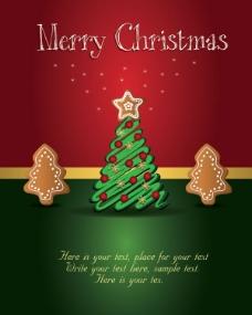 精美圣诞标签01——矢量素材