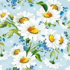 鲜花背景02—矢量素材