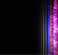 璀璨光效背景02—矢量素材