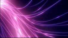 绚丽优美的紫色线条