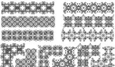 古典花纹背景花纹设计图片
