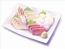 日式料理摆盘