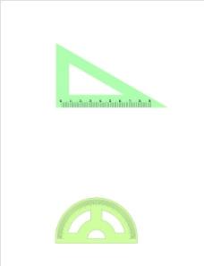 三角尺 量角器图片