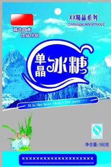 单晶冰糖 绵白糖包装图片