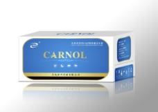 生物药品盒子 文件为平面展开图图片