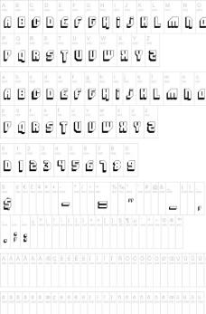 英文字体图片