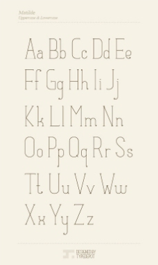 Matilde英文字体
