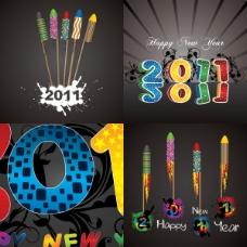 精美2011字体设计——矢量素材