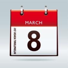 3月8号妇女节主题图形05——矢量素材