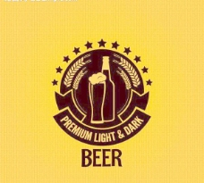 啤酒商标图标设计图片