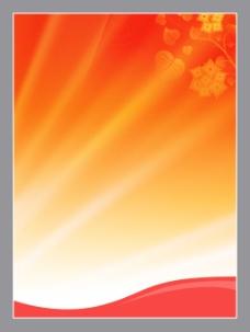 红色底图 背景  展板