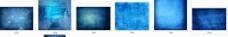 蓝色炫丽复古科技带感