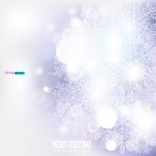 炫丽的雪花背景04——矢量素材