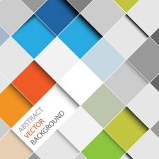 现代几何抽象背景02—矢量素材