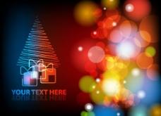 华丽的圣诞节背景03——矢量素材