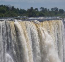 壮观的维多利亚瀑布图片