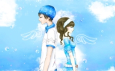 情侣翅膀爱情