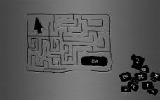 高清 简约 迷宫游戏 背景图片