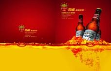 高達大氣的百威啤酒企業宣傳畫冊
