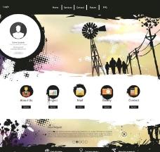 网页模板网站模板图片