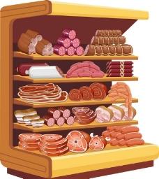 肉食图标肉类图片