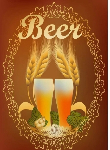 啤酒商标标签设计图片