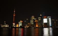 上海 浦东 陆家嘴 夜景图片