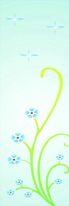 用兰花做小报的边框简笔画