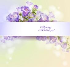 手绘喇叭花 手绘花卉图片