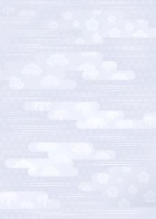 浅灰云纹排列背景图