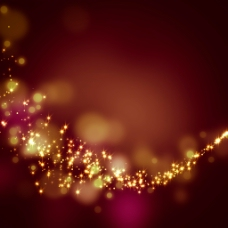 璀璨星光棕色背景图片