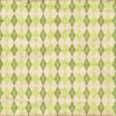 绿色菱形格子背景图片