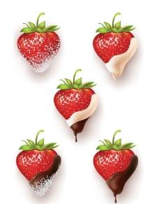草莓巧克力图片