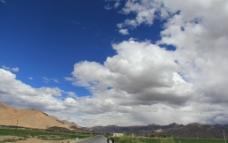 西藏天空图片