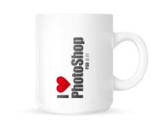 PSD白色的咖啡杯图片