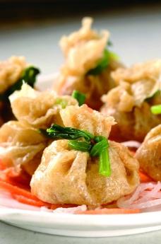 炸饺子图片