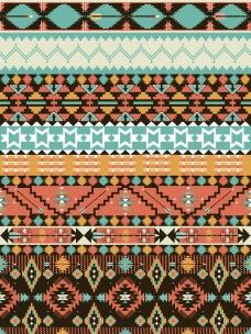 印第安花纹图片