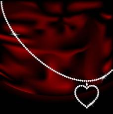 情人节爱心宝石图片