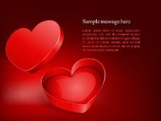 爱心礼盒图片