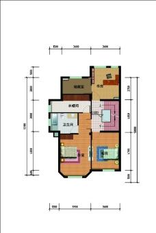 住宅戶型圖圖片