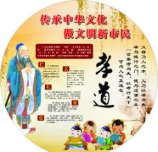 中国文化展板 孝道图片