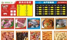 超市价格表