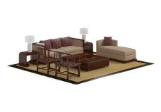 家居沙发模型