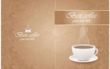 咖啡厅餐牌图片