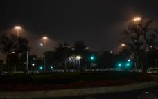 相映成輝的路燈圖片