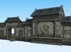 古建民居3D模型
