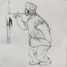 绘画人物图片