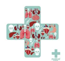 医院医疗保健图标图片